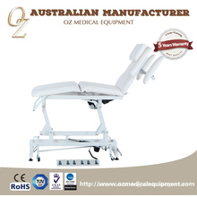 Good Quality CE Approved Australian Manufacturer Medical Grade Motorized Healthcare Center 3 Section Osteopathic Treatment Chair