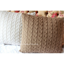 Acrylic Knit Cushion Cover Pillow Cover Pillowcase (C14105)