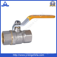 Two Piece 4 Inch Brass Thread Ball Valve (YD-1021)