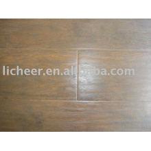 Pavimento laminado sintético / superfície raspada mão registada