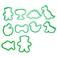 набор пластиковых животных печенья