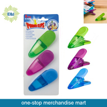 Dollar Items of 3pc Plastic All-purpose Clips