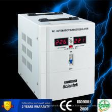 Servo Motor Control Led display 5000VA 3000W Home use Automatic Voltage Regulator Stabilizer AVR