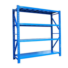 Industrial Medium Duty Shelving With High Strength Closed Steel Panel