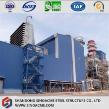 Usina de aço pesado com estrutura de estrutura de alta elevação