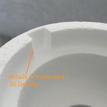 Пена упаковочный материал прототипирование ЧПУ пластика обработки