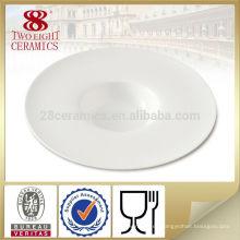 placas de porcelana de forma UFO personalizadas de diseño nuevo y único