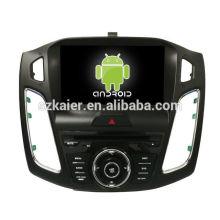 Núcleo Octa! Dvd do carro do android 8.0 para o ford focus 2018 com a tela capacitiva de 9 polegadas / GPS / ligação do espelho / DVR / TPMS / OBD2 / WIFI / 4G