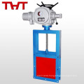 Electric pressure cast iron/cast steel sluice gate valve with drawing