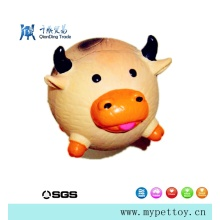 Hot Selling Latex Cow Pet Products