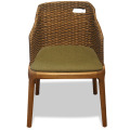 Leisure Wooden Living room rattan chair