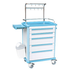 Stainless steel fence ABS treatment cart