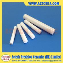Barras de cerámica del Zirconia alto de precisión y ejes de mecanizado