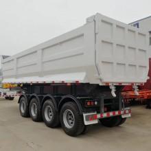Hydraulic Cylinder Rear End Dumping Trailer