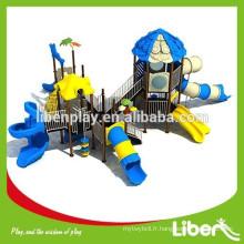 Terrain de jeux pour enfants Aire de jeux extérieure à chaud importée Aire de jeux approuvée CE à vendreLE.X1.503.141.00