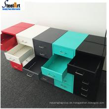 Büro-Stahl-Schubladenschrank Multifunktions-Schubladenschrank