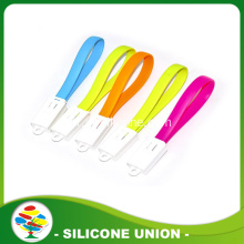 Silicone Lightning / MICRO USB Cable / Bracelet