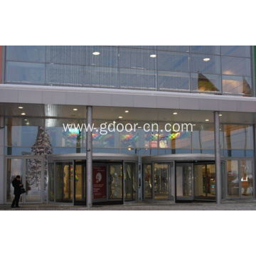 Classic Three-wing Automatic Revolving Door For Hotel