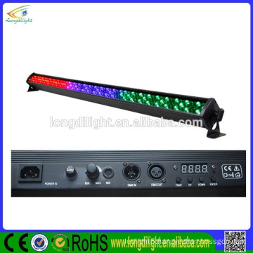 252x10mm LEDs indoor DMX light bar rgb american dj mega bar led