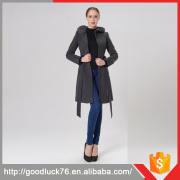 European Women Feather Down Winter Coat Woman Parka Jacket