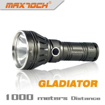 Maxtoch GLADIATOR militärische Aluminium Big Head LED-Taschenlampe