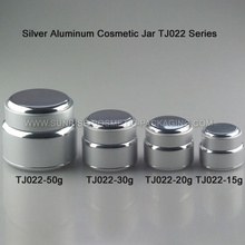 Plata aluminio crema tarro