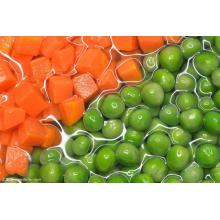 Hot Sale for Organic Mixed Vegetables Frozen Green Peas With Diced Carrots Soup Recipe supply to Mayotte Manufacturers