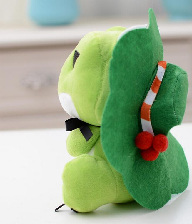 Travel Frog Shaped Plush