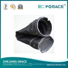 Pañuelo de polvo de fibra de vidrio de tela de alta temperatura de resistencia