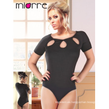 MIORRE SHORT SLEEVE MUJER MODAL BODYSUIT CON SNAP