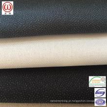Intercalação fusível de toque suave para jaquetas, camisas ou cós
