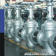 API 6D RF Type Cast Steel Body Through Conduit Gate Valve