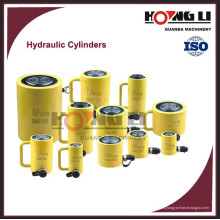 cilindro hidráulico de carrera larga / corta de acción doble profesional, CE