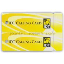Cartão de chamada aprovado Cartão não-padrão