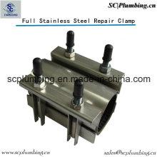 Pipe de réparation de tuyau de l'industrie ss304 de canalisation de l'eau