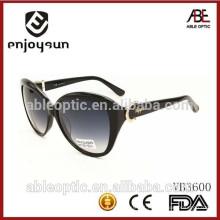 Padrões CE & FDA 2015 óculos de sol novos à moda da moda da senhora da forma com amostra livre