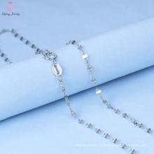 Bijoux en argent sterling 925 de chaîne de collier pour des hommes