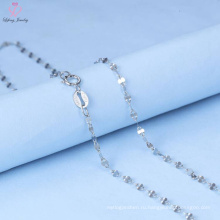 925 Стерлингового Серебра Цепи Ожерелье Ювелирные Изделия Для Мужчины