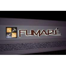 Hintergrundbeleuchtete Zeichen 3D LED / hinterleuchtetes Zeichenzeichen 3D LED / von hinten beleuchtete Geschäfts-Zeichen 3D LED