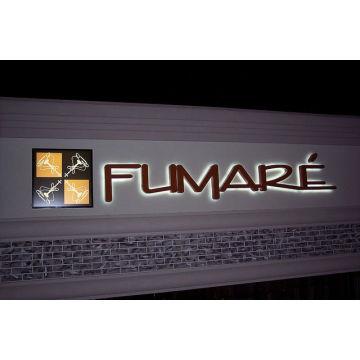3D LED backlit signs / 3D LED backlit sign letter / 3D LED Backlit Business Signs