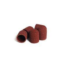 Pedicure sanding caps for cuticle clean
