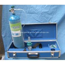 Cylindre de gaz d'oxygène d'alliage Almunium 4L