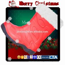 JX-916 X'mas PVC Christmas boots for kids