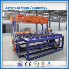 Automatic grassland field fence machine