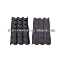 Anti-weather Stone chip coated steel/metal roof tiles with colourful,cheaper price
