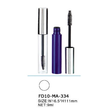 Cylindrical Fashion Empty Transparent Mascara Container