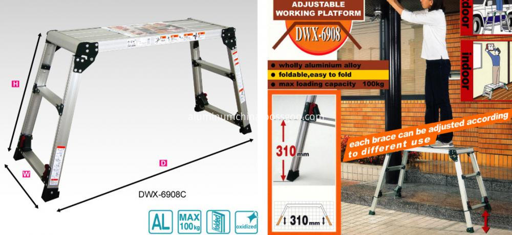 working platform use DWX