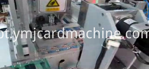Three Stations SIM Quarter Card Card Punching Machine