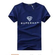 Verão 100% Algodão Impresso Men's T-Shirt