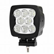 80w 9 LED, der Arbeits-Licht-Lampen-Quadrat-Offroad SUV ATV 4WD Boat Camp fährt
